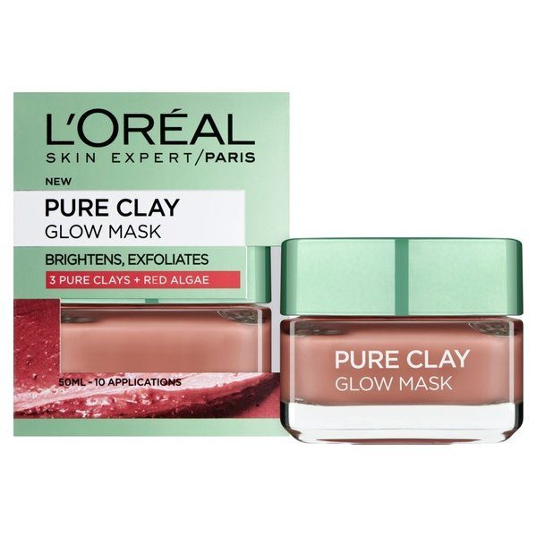 L'Oreal Paris Pure Clay Glow Face Mask Bangladesh
