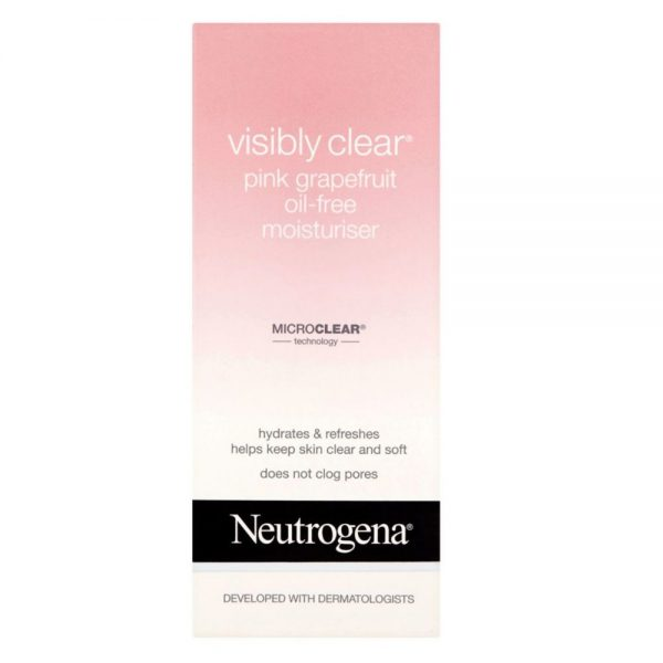 Neutrogena Visibly Clear Pink Grapefruit Oil-Free Moisturiser Bangladesh