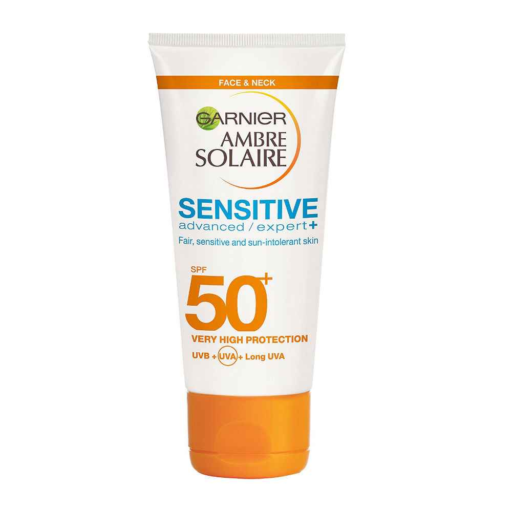 Garnier Ambre Solaire Sensitive Face and Neck Sun Cream SPF50 Bangladesh