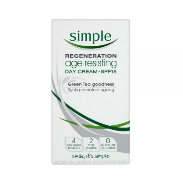 Simple Age resisting day cream SPF 15 Bangladesh