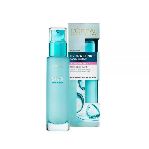 loreal hydra genius aloe water dry skin Bangladesh
