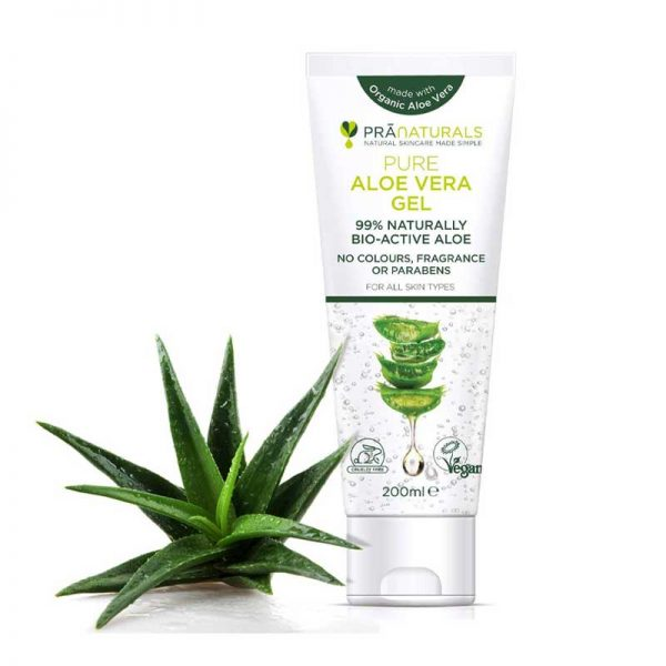 PraNaturals Pure Aloe Vera Gel 200ml Bangladesh