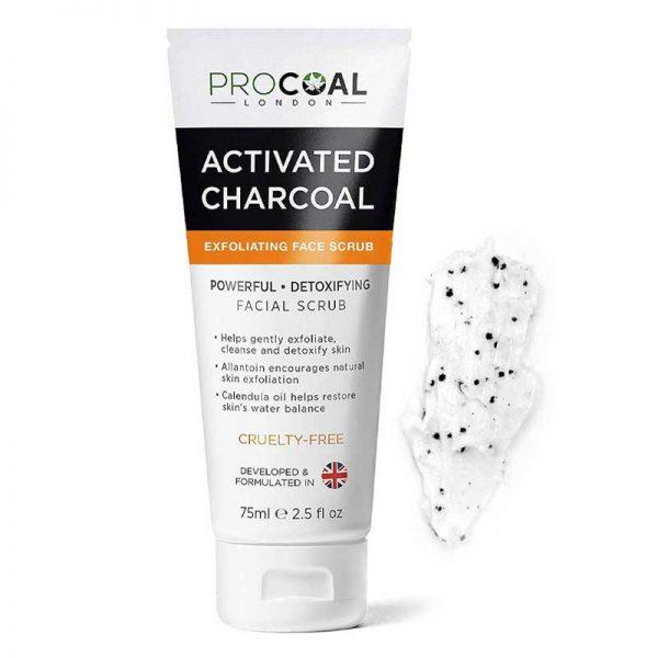 Procoal Premium Exfoliating Charcoal Face Scrub Bangladesh