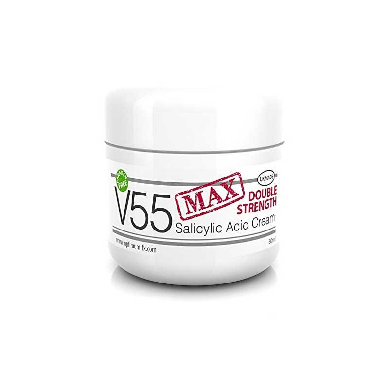 V55 Max Double Strength Salicylic Acid Cream for Spots Blackheads Milia Blemishes Bangladesh